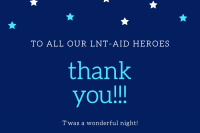 THANK YOU!  for a lovely LNT-AID