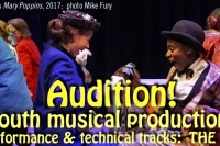 New Auditions Announced for Youth Summer Musical Intensive