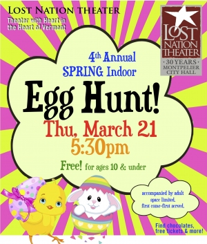 LNT Annual Indoor Spring Egg Hunt