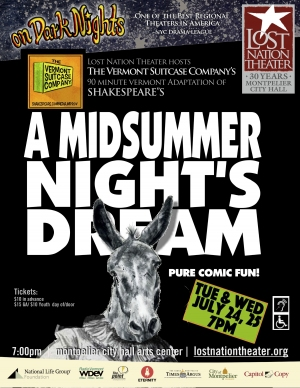 Vermont Suitcase Co: Midsummer Night's Dream