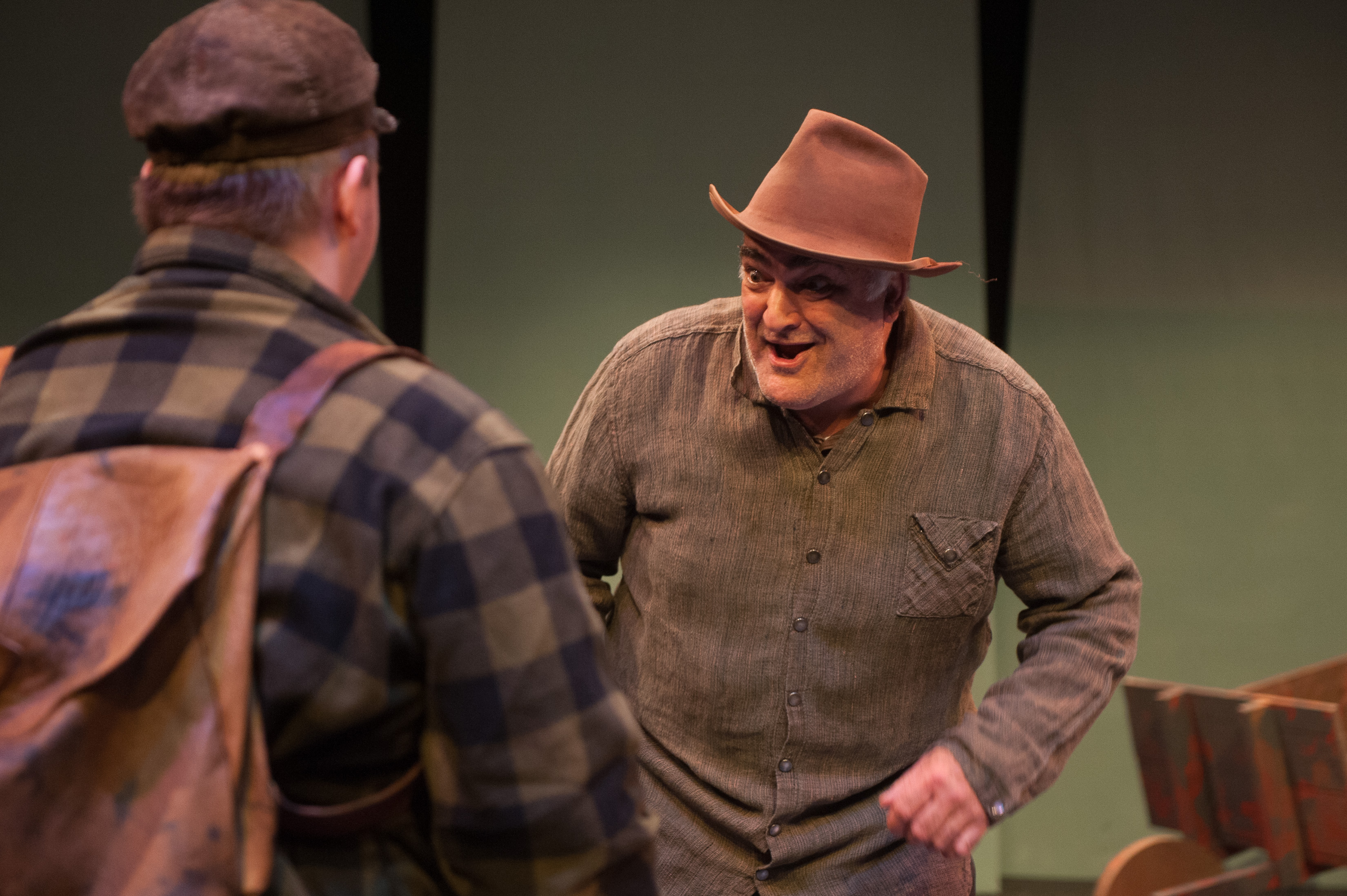 Robert Eddy, First Light Studios captures Mark S. Robert's brilliant portrayal of Ol' Farmer Walter K in this scene from LNT's premiere production of DISAPPEARANCES directed & adapted for stage by Kim Allen Bent