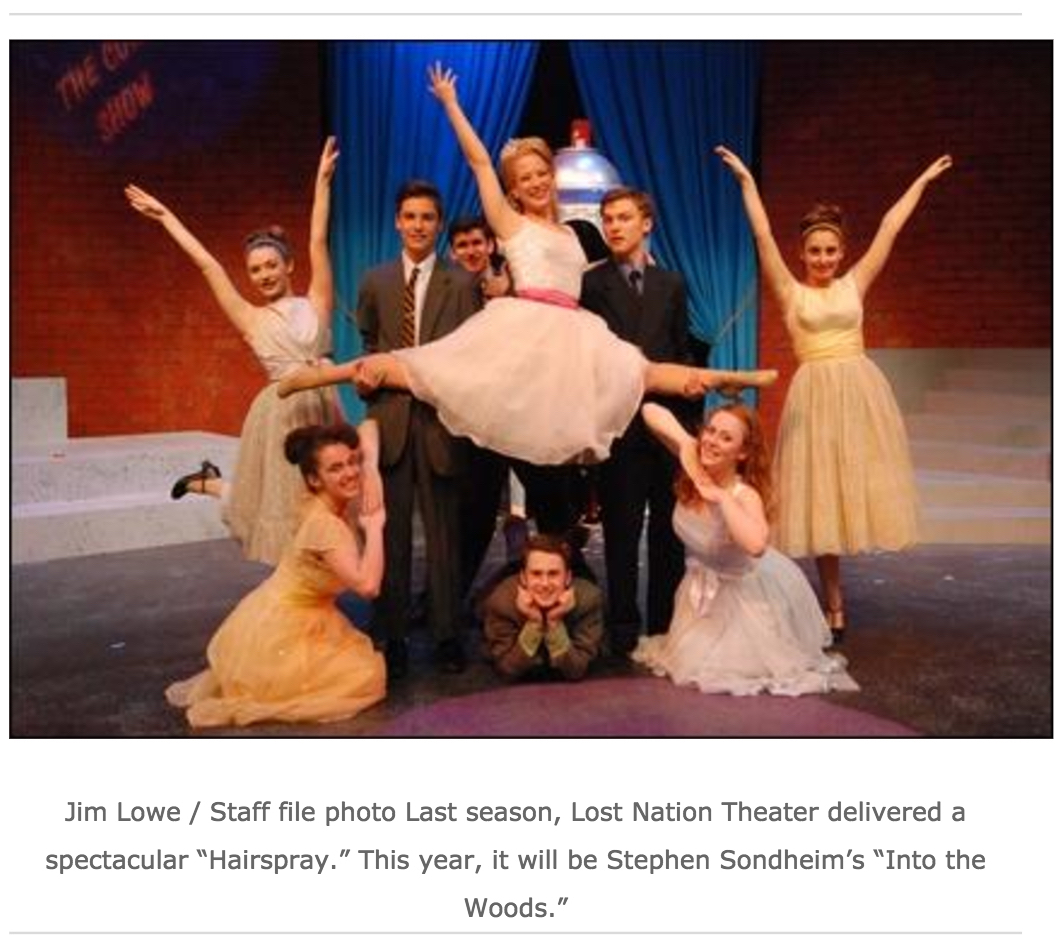 photo from Hairspray used for TA feature on LNT's 2017