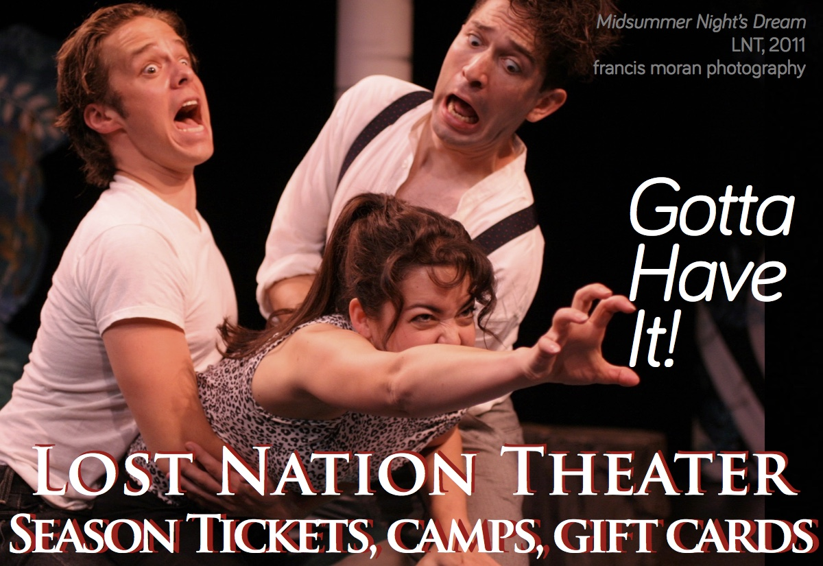 Get LNT - pic of Midsummer Night Dream cast reaching for LNT